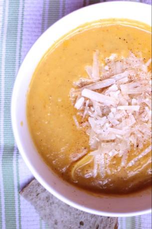 Pumpkin Noodle Soup